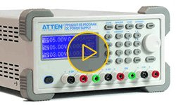 Видеообзор программируемого источника питания ATTEN PPS3203T-3S