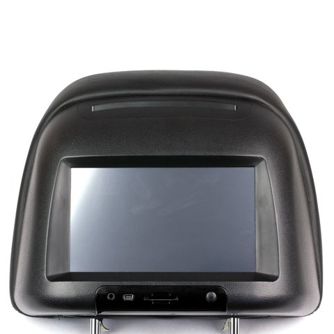 "7"" Car Headrest Touchscreen Monitor with DVD Player"