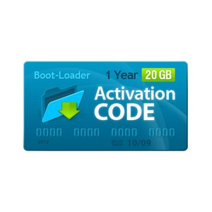 Boot-Loader v2.0 Activation Code (1 year, 20+3 GB)
