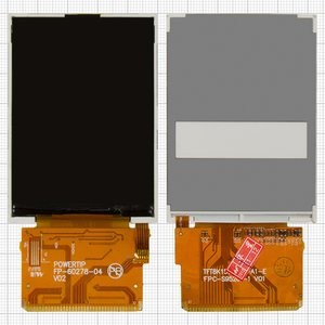 LCD for China-Nokia E71 TV, E72 TV, N95 ; Anycool T818 Cell Phones, (37 pin, (70*50)) #TFT8K1556FPC-A1-E/S0240320TG8GFALW FPC Ver0/FP-60278-04/FPC-S07086-A/FPC-S95261-1 V01 SW/DTM0132FPC-A1/Z28007S00-A/KFM529HQ1-1A 13/TF2805T(A)