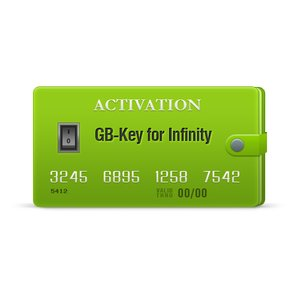 GB-Key Dongle Activation for Infinity-Box/Dongle, BEST Dongle, Infinity CDMA-Tool (with Pack 1 for 1 year)