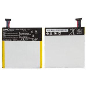 Battery compatible with Asus MeMO Pad HD7 ME173X (K00B), (Li-Polymer, 3.8 V, 3950 mAh) #C11P1304
