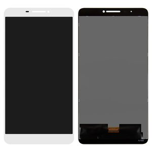 LCD for Lenovo Phab PB1-750M LTE Tablet, (white, with touchscreen)