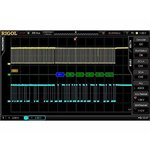 Software Option RIGOL SD-I2C/SPI-DS6 for Decoding I2C, SPI