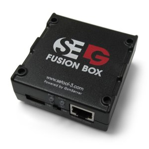Caja SELG Fusion Box SE Tool sin tarjeta inteligente y con juego de cables (10 uds.)