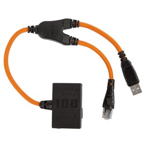 Cable ATF/Cyclone/JAF/MXBOX HTI/UFS/Universal Box F-Bus/USB para Nokia 108