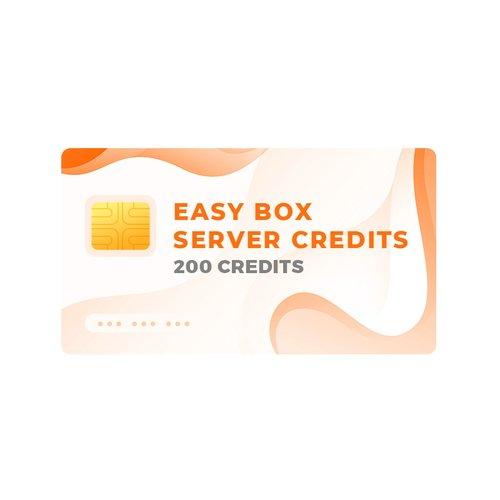 Créditos del servidor Easy-Box (200 créditos)