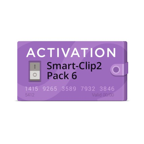 Activación Smart-Clip2 Pack 6