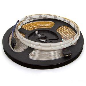 Светодиодная лента RGB SMD 3528 (без  управления, IP65, 60 диодов/м, 5 м)