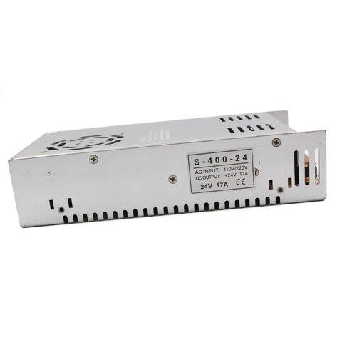 Блок живлення для світлодіодних стрічок 24 В, 17 A 400 Вт , 110 220 В