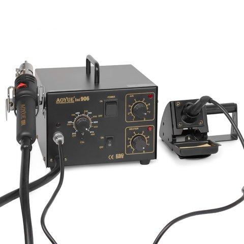 Термоповітряна паяльна станція з паяльником AOYUE 906