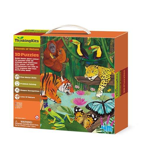 3D пазл 4M Тропический лес 00 04678