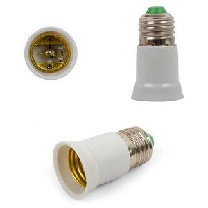 Base Adapter (E27 to E27, white, 65 mm)